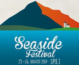 Seaside Festival 25. – 26. August 2017 Spiez
