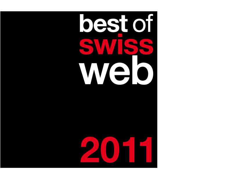 Best of Swiss Web 2011