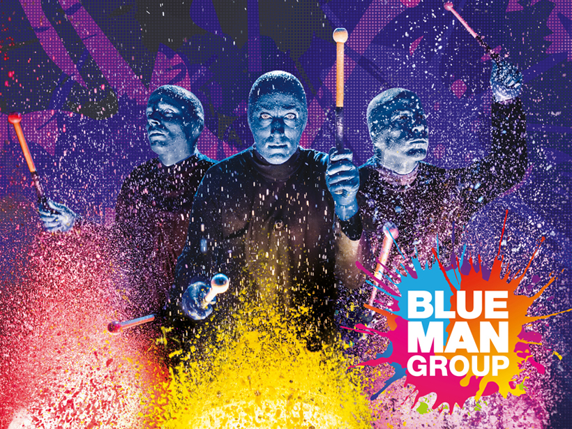 Blue Man Group - 20% Rabatt auf Tickets