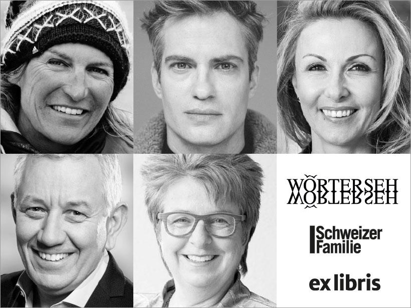 Autorenporträts Wörterseh Schweizer Familie Ex Libris
