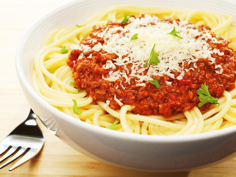 Einfache leckere Spaghetti