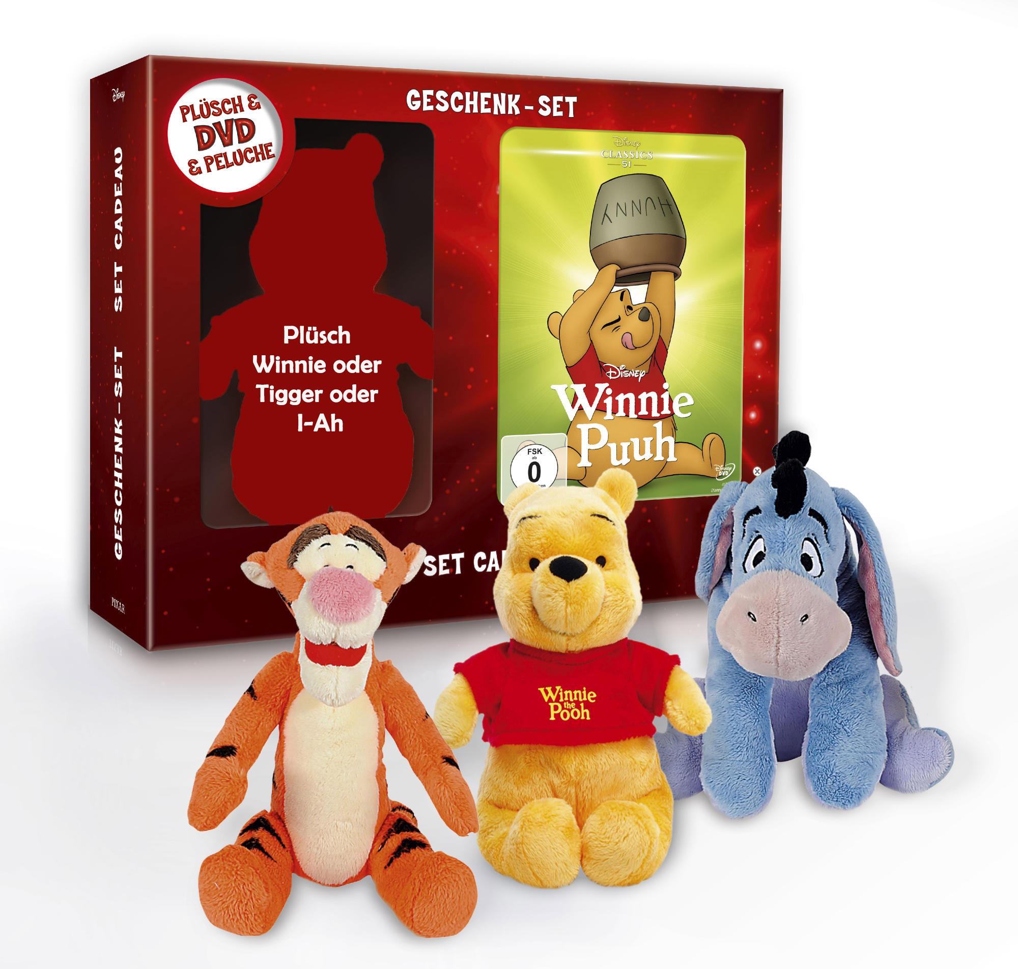 Geschenkpacks: 1 DVD + 1 Plüsch