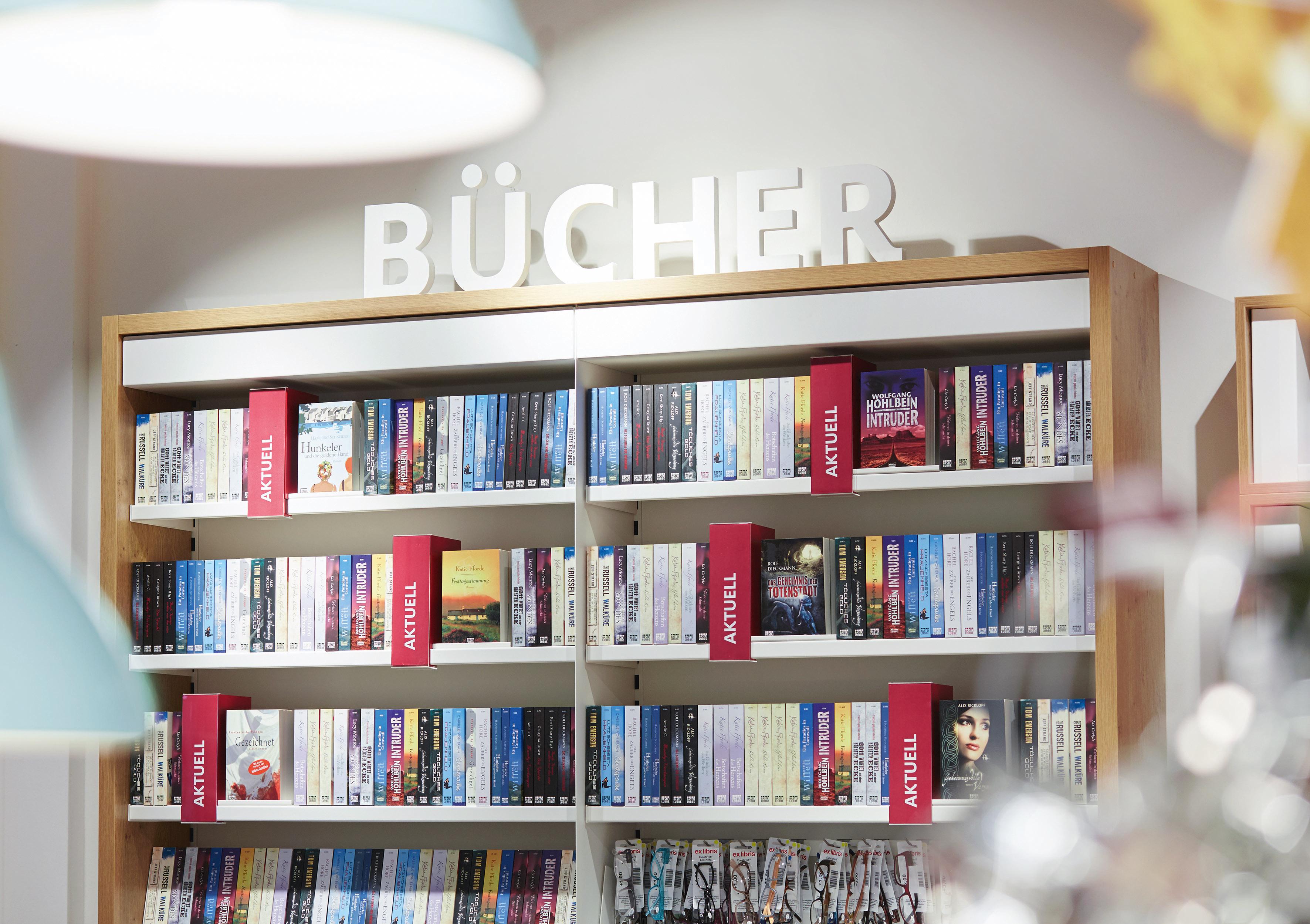 Büchersortiment