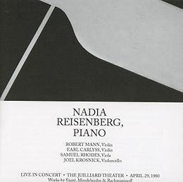 Nadia Reisenberg,Klavier