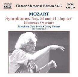 Symphonien Nr.34+41/idomeneo