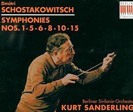 Grosse Sinfonien 1,5,6,8,10,15