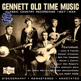 Gennett Old Time Music