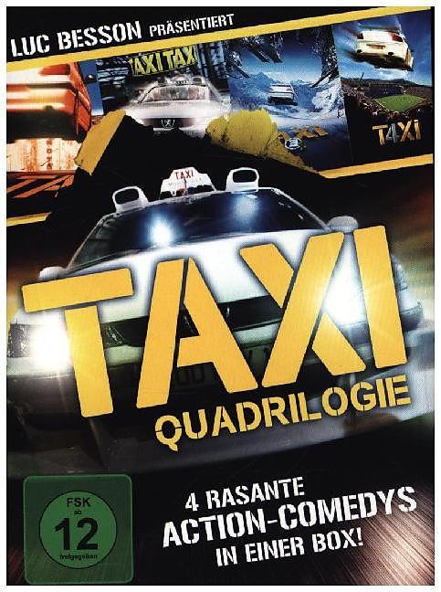taxi qu4drilogie dvd online kaufen. Black Bedroom Furniture Sets. Home Design Ideas