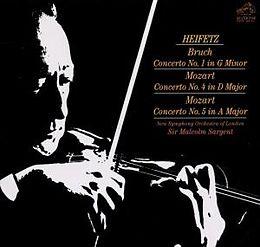 Violinkonzert 1 Op. 26; Violinkonzerte 4 + 5