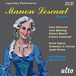 Puccini Manon Lescaut