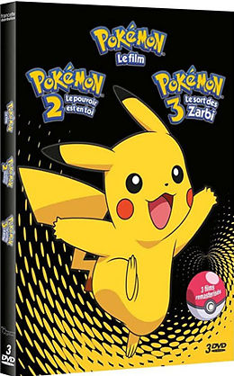 Pokémon - coffret films 1 à 3