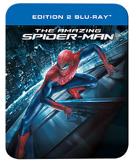 The Amazing Spider-Man - Steelbook, Blu-ray Disc, francese