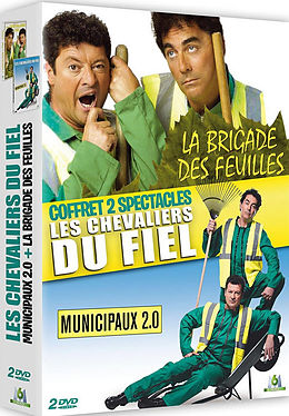 Les Chevaliers du Fiel - Coffret 2 spectacles [Französische Version]