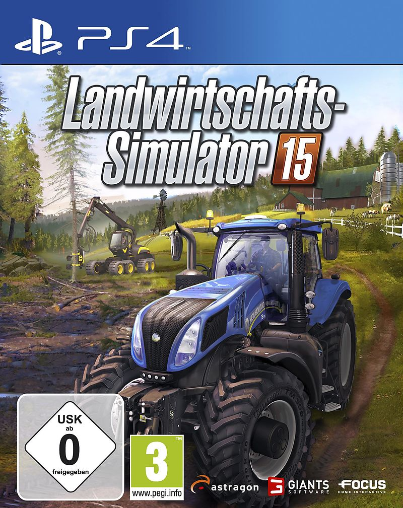 landwirtschafts simulator 2015 ps4 d f r ps4 kaufen. Black Bedroom Furniture Sets. Home Design Ideas