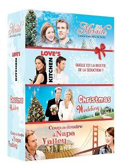 Mr Miracle + Love's kitchen + Christmas Wedding + Coup de foudre à Napa Valley [Französische Version]