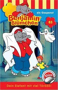 Benjamin Blümchen 83: ... als Gespenst