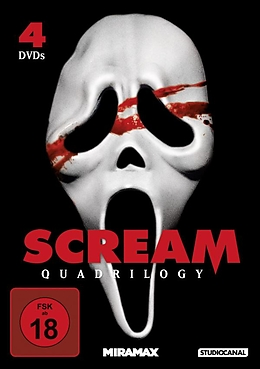 Scream Quadrilogy [Versione tedesca]