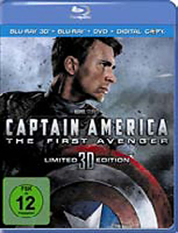 Captain America - 3D BRC [Version allemande]