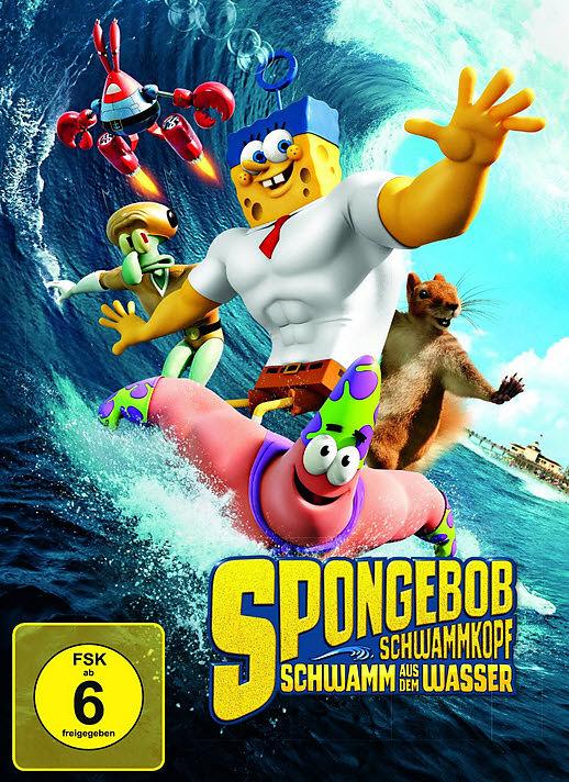 spongebob schwammkopf schwamm aus dem wasser dvd online kaufen. Black Bedroom Furniture Sets. Home Design Ideas