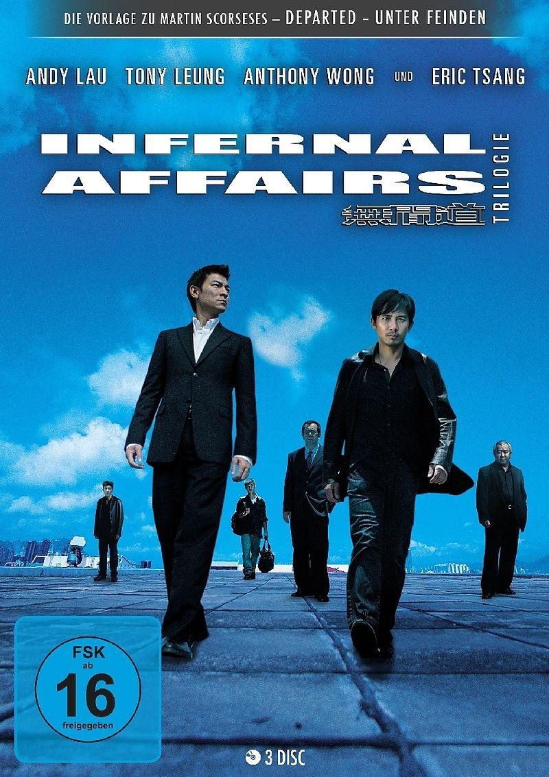 Infernal Affairs Trilogie - DVD - online kaufen | exlibris.ch