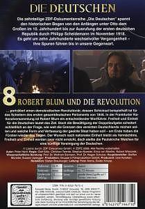 Die Deutschen (8) Robert Blum u.d.Revolutuion [Versione tedesca]