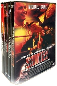 Shiner, False Pretense, Brothers in Arms, Nightkill DVD-Box
