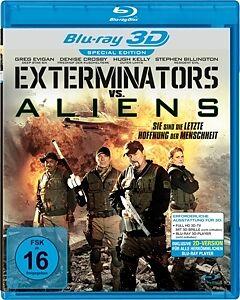 Exterminators Vs. Aliens (Real 3d BD) [Version allemande]
