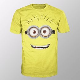 Minion Google Face (shirt M Yellow)