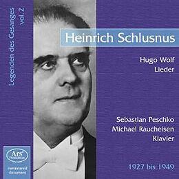 Legenden Des Gesangs Vol.2.-Heinrich Schlusnus
