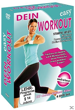 Dein Easy Workout : Rücken - Aerobic - Fatburner - Bauch, Beine, Po [Version allemande]