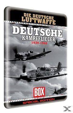 Der 2.WK: Deutsche Kampfflieger (Metallbox) [Version allemande]
