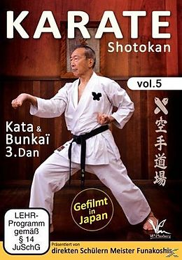 Karate Shotokan Vol.5 Kata & Bunkai 3.Dan [Version allemande]