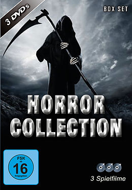 Horror Collection (3 DVDS) [Versione tedesca]