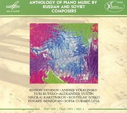 Anthology Of Piano Music By Russian And