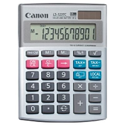 canon tischrechner ls 123tc tischrechner online kaufen. Black Bedroom Furniture Sets. Home Design Ideas