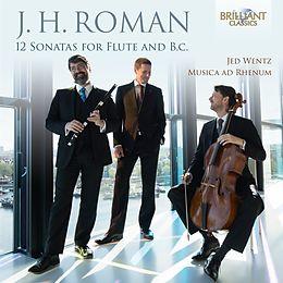 Roman - 12 Sonatas For Flute And B.c