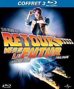 Retour Vers Le Futur 1-3, Blu-ray Disc, français
