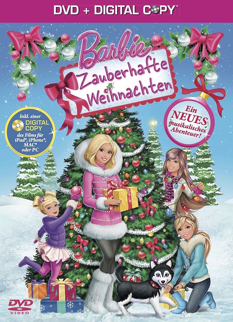 barbie zauberhafte weihnachten dvd online kaufen. Black Bedroom Furniture Sets. Home Design Ideas