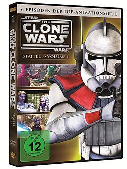 Star Wars: The Clone Wars - Season 3 / Vol. 1 [Version allemande]