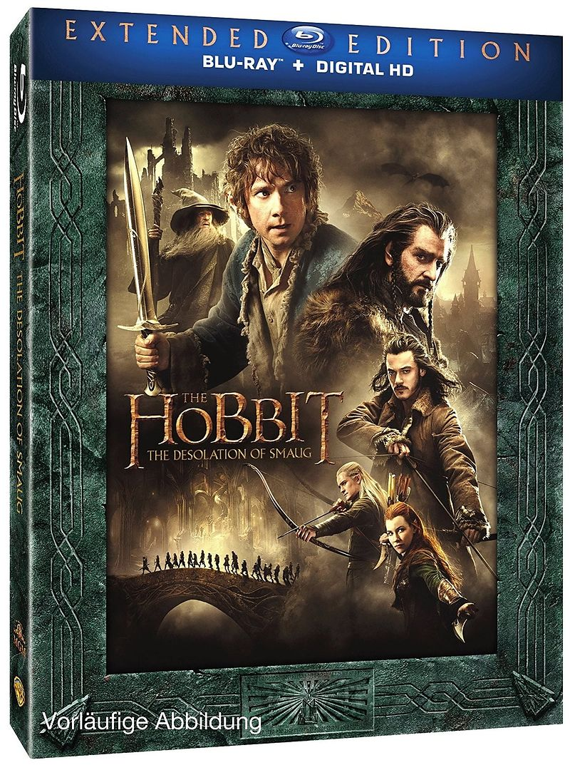 der hobbit smaugs ein de extended edition sur blu ray acheter en ligne. Black Bedroom Furniture Sets. Home Design Ideas