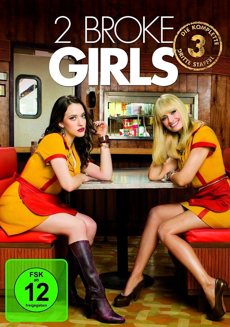 2 broke girls staffel 03 dvd online kaufen. Black Bedroom Furniture Sets. Home Design Ideas