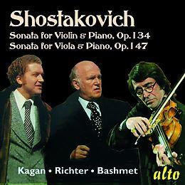 Violinsonate op.134/Bratschensonate op.147