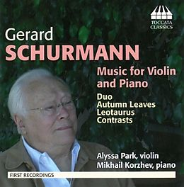Schurmann Music For Violin And