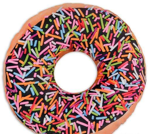 donut sprinkles kissen fun kissen online kaufen. Black Bedroom Furniture Sets. Home Design Ideas