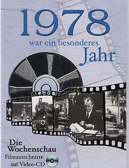 1978 DVD - Geburtstagskarte - 1978 war ein besonderes Jahr