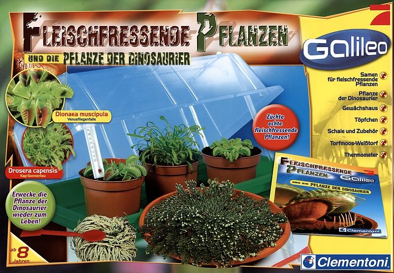 galileo fleischfressende pflanzen naturbeobachtung spielzeug online kaufen. Black Bedroom Furniture Sets. Home Design Ideas