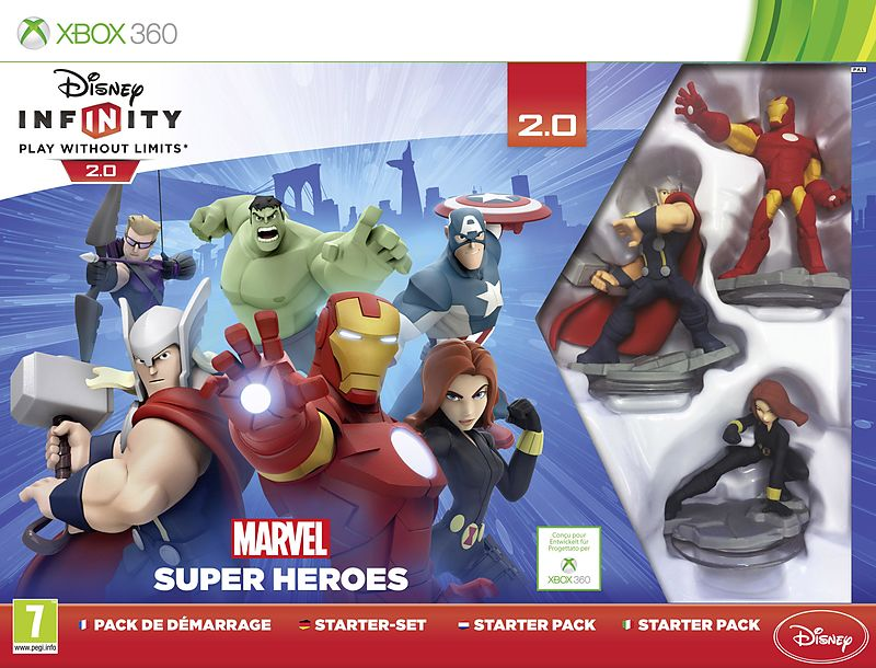 disney infinity 2 0 marvel super heroes pack de d marrage x360 d f i jeux xbox 360. Black Bedroom Furniture Sets. Home Design Ideas