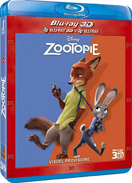 Zootopie - Zootopia - Steelbook - 3d+2d - Édition