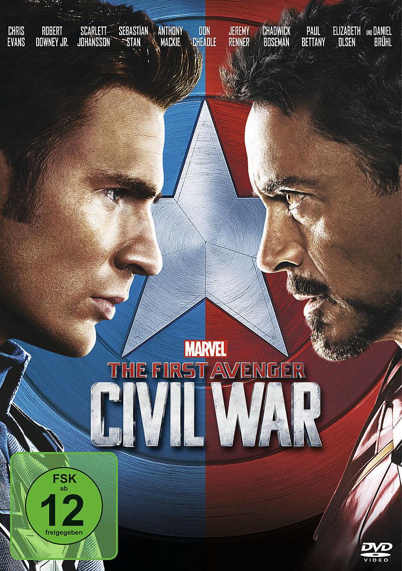 the first avenger civil war dvd online kaufen. Black Bedroom Furniture Sets. Home Design Ideas