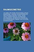 Raumgeometrie [Versione tedesca]